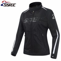 Motorcycle Jacket Women's Motorcycle Suit Spring Summer Jacket Breathable Mesh Riding Clothes Ropa Moto Jackets / riding jacket