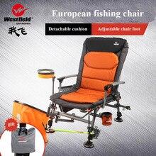 2019 новый набор Европейский рыбалка стул четыре сезона применение чистая вес 6 кг Ультра легкий алюминий сплав портативный 135 градусов регулир
