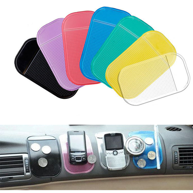 Silicon Non-slip Mat Auto Accessories Magic Anti-Slip Dashboard Sticky Pad Holder For GPS Cell Phone Iphone X Coin
