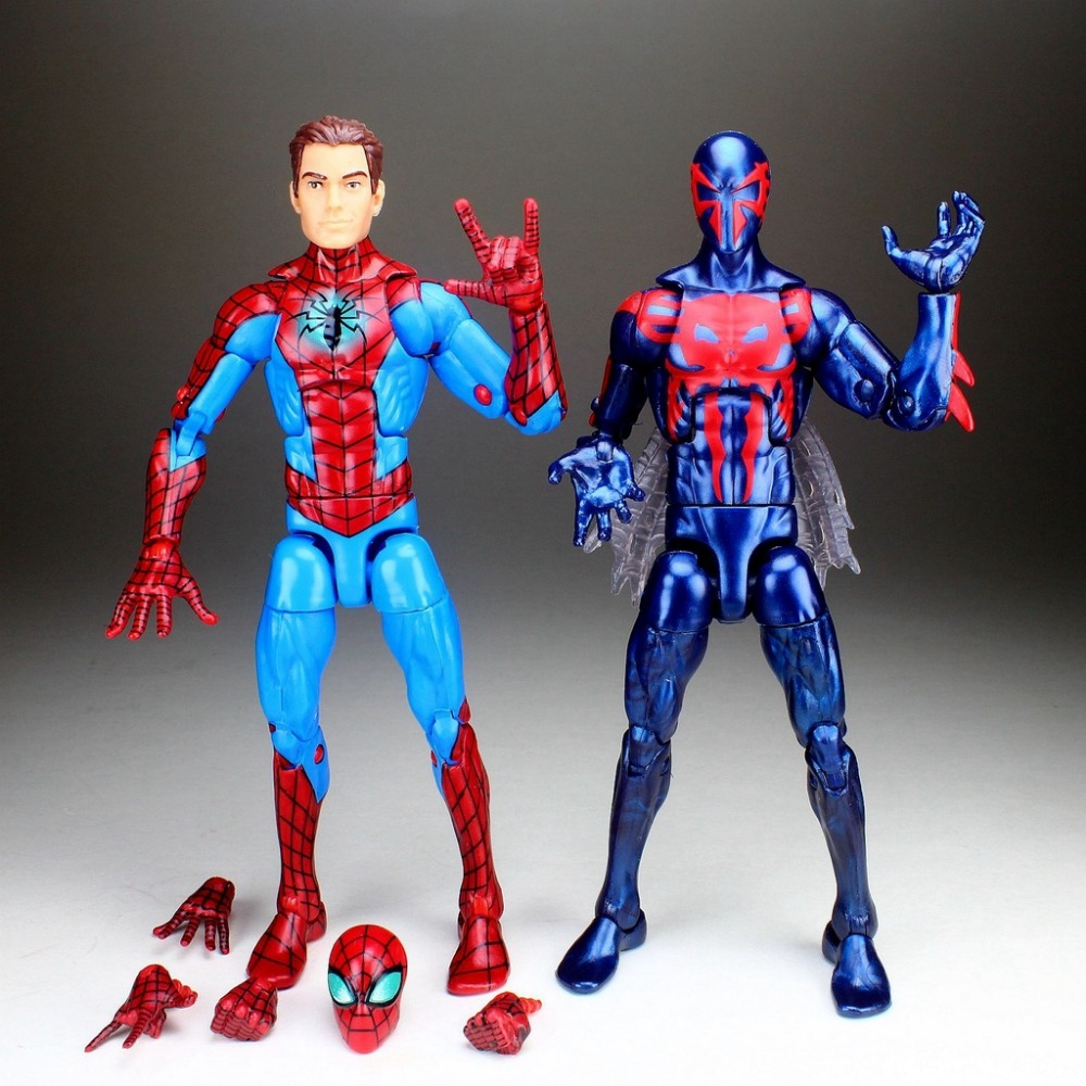 Marvel Legends Infinite Series Unmasked Homecoming PETER PARKER Spiderman 2099 All New All Different Figure TOY