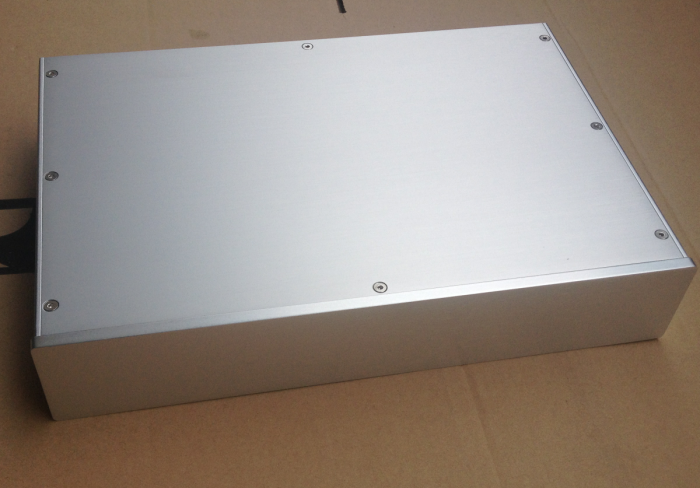 New aluminum amplifier chassis /home audio amplifier case (size 380*70*258MM)New aluminum amplifier chassis /home audio amplifier case (size 380*70*258MM)