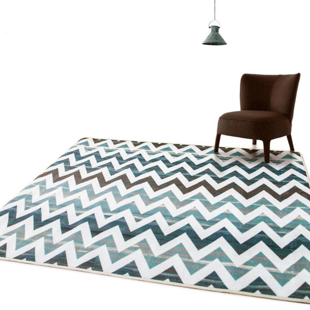 Moderne chevron gestreiftes muster große carpet schlafzimmer wohnzimmer teppiche sofa stuhl kaffee bar tür fußmatten home