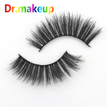6D fiber Natural Fake Lashes 5 Pairs Long False Eyelashes High Quality Handwork Mink Extension For Beauty or Gift