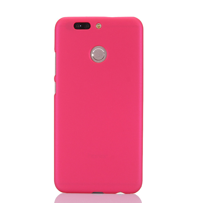 Phone Case For Fundas Huawei Honor V9 Case 360 Matte Hard plastic PC Candy Color Back Cover for Coque Huawei Honor 8 Pro Case in Half wrapped Cases from Cellphones Telecommunications