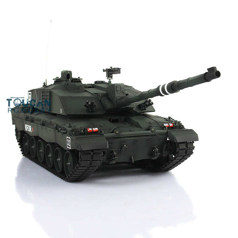 2.4 Ghz Henglong 1/16 Sclae Diepe Groene Britse Challenger II RTR RC Tank Plastic Tracks Wielen 3908 TH00132-in RC Tanks van Speelgoed & Hobbies op  Groep 1