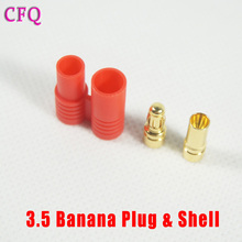 diy drone kit 3.5mm Banana Gold Bullet Connector Plug Or Drone Quadcopter battery Connector rc parts Bullet Connector Plug