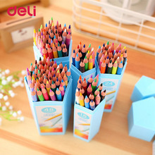 2018 Deli 12 18 24 36 48 Watercolor Color Pencil Set For Professional Drawing Painting Sketch