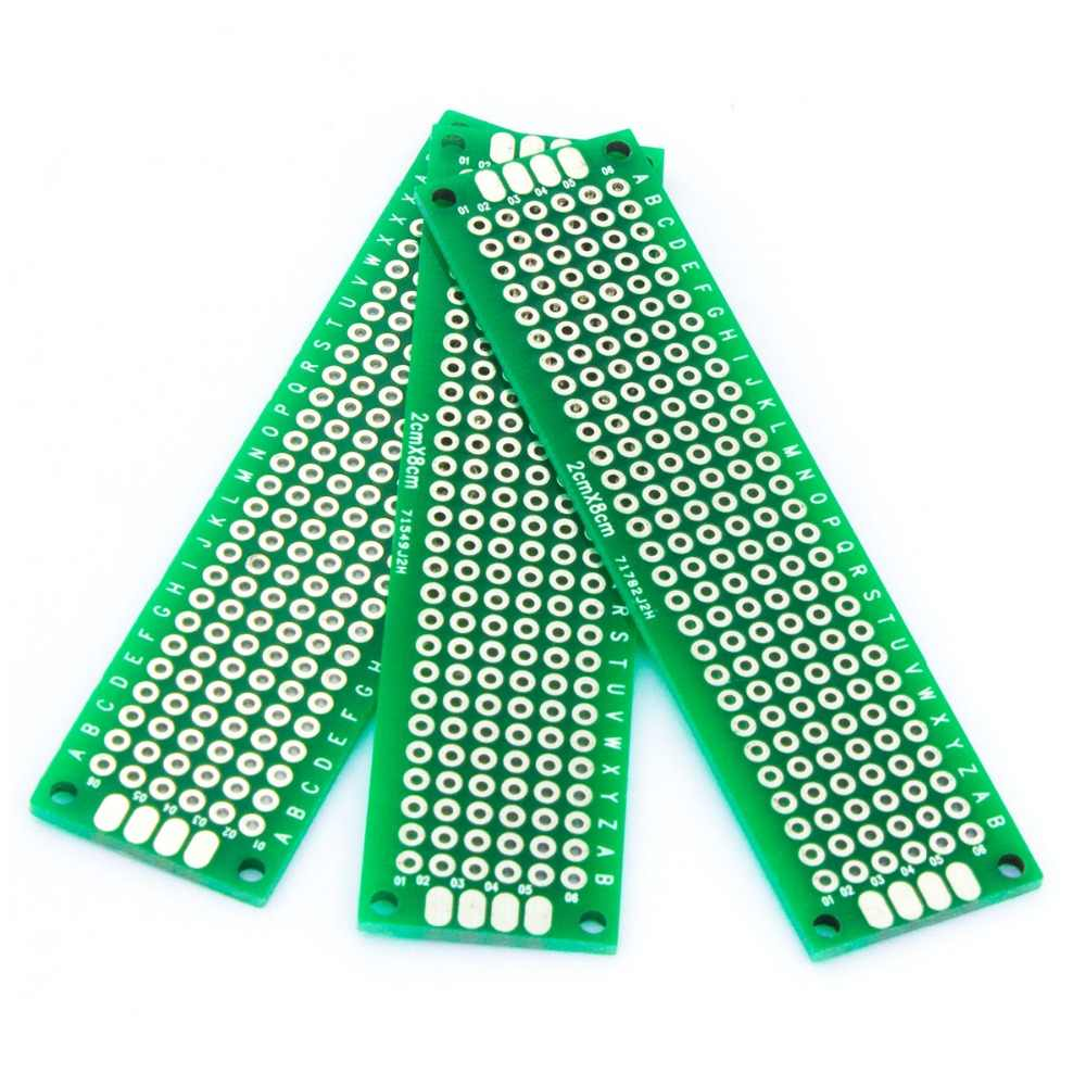 Detail Feedback Questions About Mcigicm 10pcs Double Side Prototype Diy Paper Pcb Universal Experiment Matrix Circuit Board Printed 2x8cm