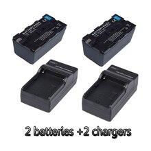 NP F970 NP F960 lithium batterien + 2 ladegeräte F970 kamera akku Für Ring Lampe FE480 FD480 FS480 led lampe 6600 mah