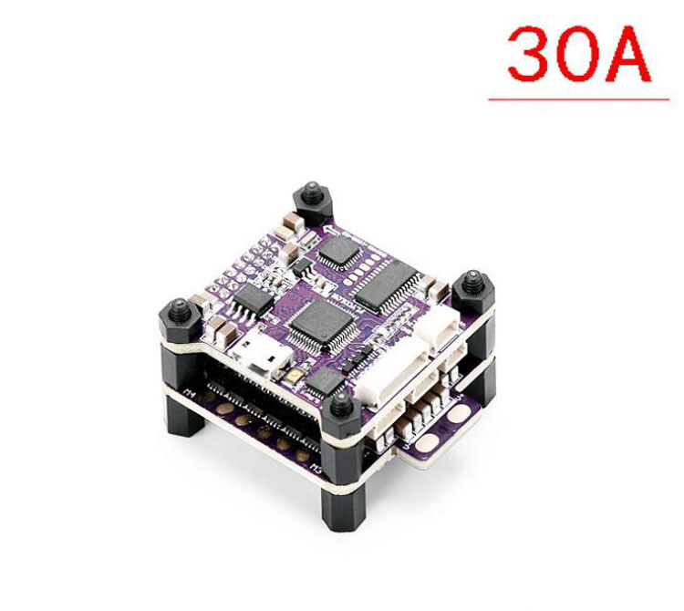 Yuenhoang Flycolor Raptor 390 S-Tower Brushless Electronic Speed Controller Four in One for Multirotor FPV Racing Quadcopter UAV