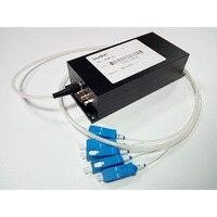 Волокно оптический коммутатор fsw OSW 1x4 1x8 1x16 1x32 1x64 высокоскоростной коммутатор для Волокно системы передачи маршрут