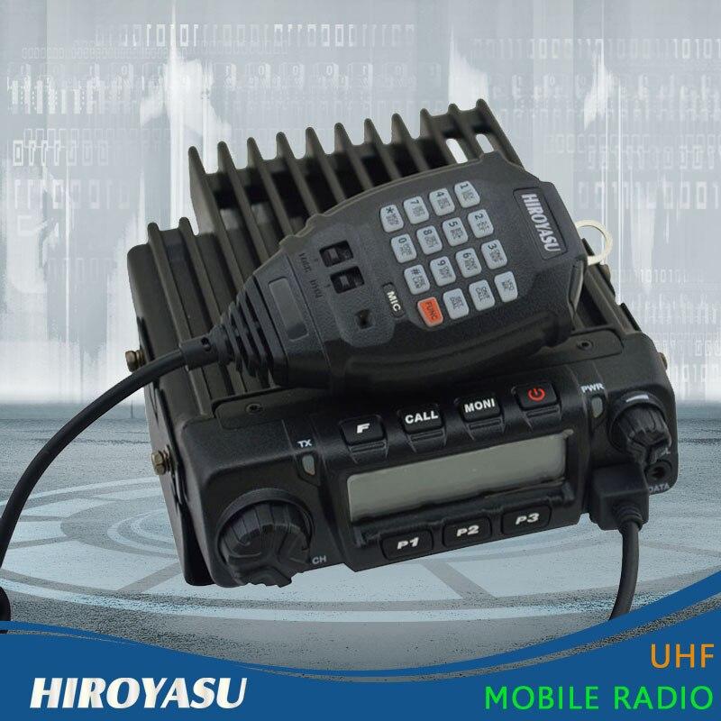 Mobile Car Radio New Arrival HIROYASU MH 370 VHF 136 174MHz 60Watt 200 Channels Car Radio Station VHF Car Radio Station
