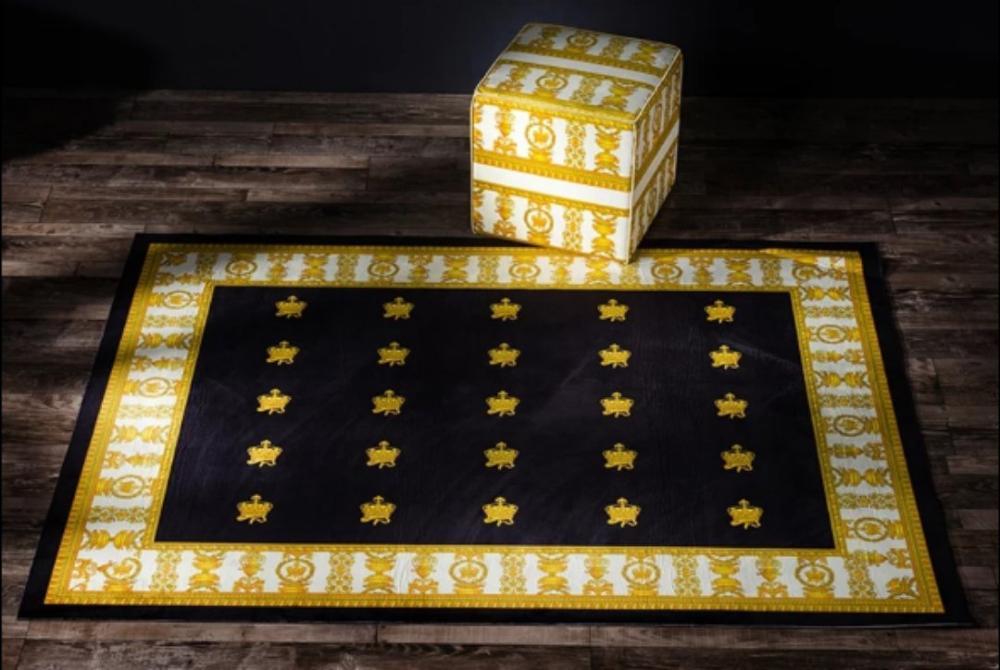 Tapis Design européen haute qualité anti dérapant grand tapis maison salon décor luxueux Palace tapis en peluche-in Tapis de sol de camping from Maison & Animalerie    1