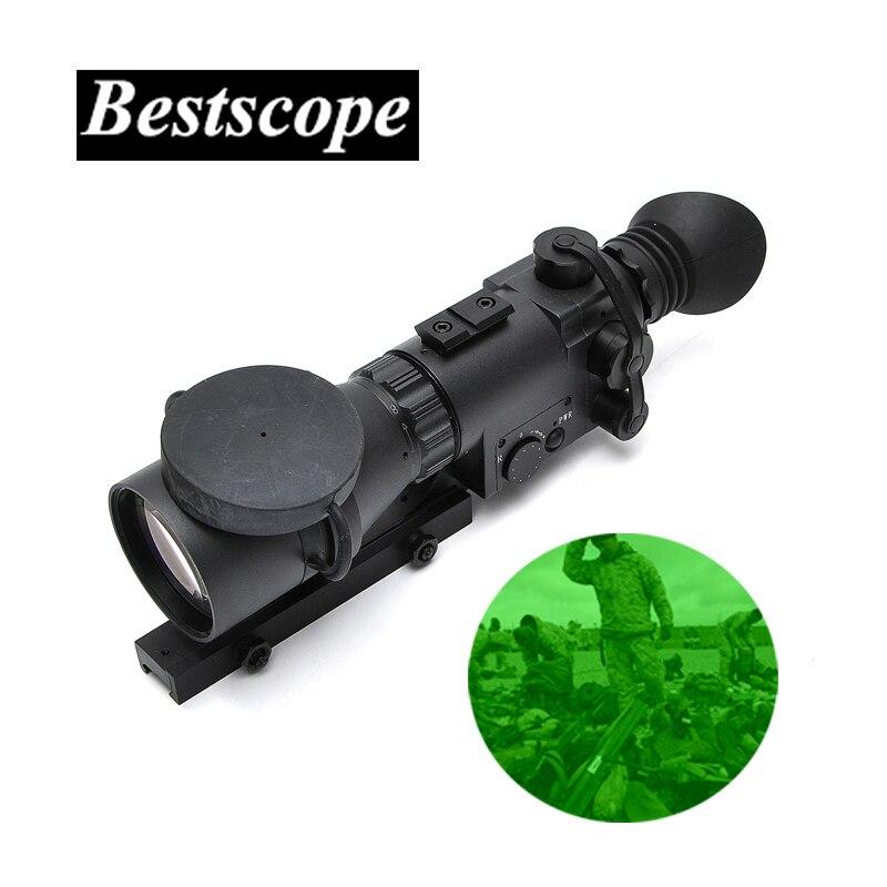 Di Visione Notturna 3X50 Gen1 Monoculare Cannocchiale Di Visione Notturna Vista della Pistola Arma Ambito di Caccia di Notte Notturna Portata Riflescope