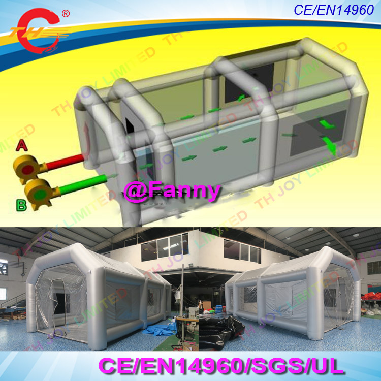8 4 3mh Portable Cars Inflatable Spray Booth Inflatable