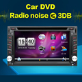 "2016 Latest GPS Navigation 6.2"" 2 Din Car DVD Player Video Radio In Dash Stereo Bluetooth Digital TV(Optional) Free Map"