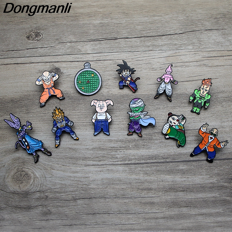 Japn Anime Cartoon Dragon Ball Piccolo Pin Brooch Jewelry Collection