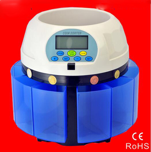 Electronic coin sorter SE-980 high speed coin counting machine for most of countries(China)