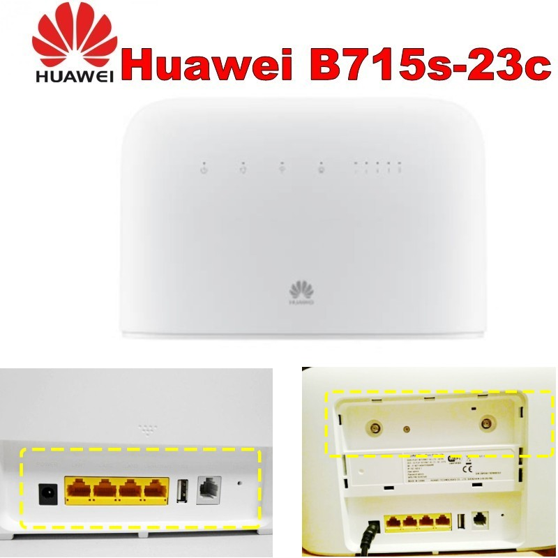 Huawei B715 B715s-23c LTE Cat.9 WiFi Routeur