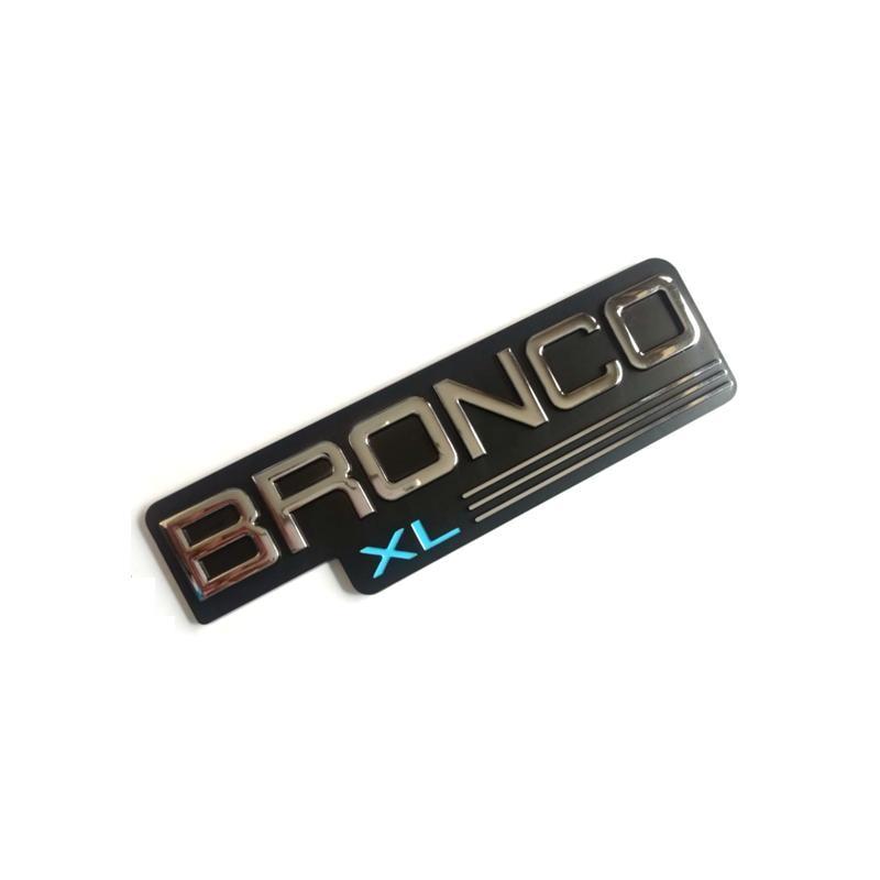 Купить автомобильная наклейка из абс пластика bronco xl эмблема значок