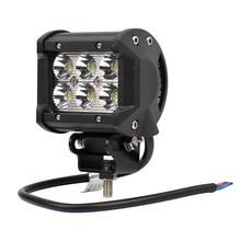 """1 STÜCKE 4 """"18 Watt LED Hilfs/Arbeitslicht für Indikatoren Lauf Lampe Lichter für Lkw/Off straße/Boot/Auto/Motorrad/SUV 6*3 Watt"""
