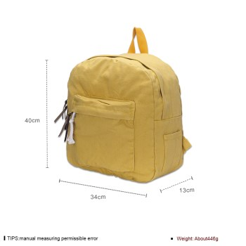 O9014 Gas High Quality Women Backpack Candy Color Waterproof Backpack School Bags #2