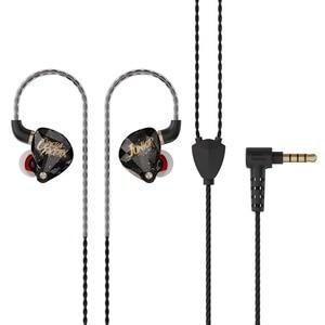 Image 5 - Ak operafactory OS1 in 耳モニター10ミリメートルグラフェンダイヤフラムダイナミックイヤホンハイファイ低音ポップヘッドセットインナーイヤー型headplug 5N ofcケーブル