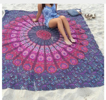 Mandala tapestry boho 3D Printed beach towel wall hanging carpet India yoga mat datura Bohemia exotic cover bedspread tapiz