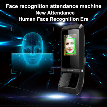 Eseye Biometric Attendance System Face Facial Recognition TCP/IP Employee Time Attendance System USB Digital Reader Time Clock uf100plus face recognition time attendance with fingerprint and rfid card em card reader tcp ip wifi facial employee time clock
