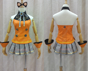 Vocaloid 3 Hatsune Miku SEEU Cosplay Costume full parts set Supply customized any size(China)