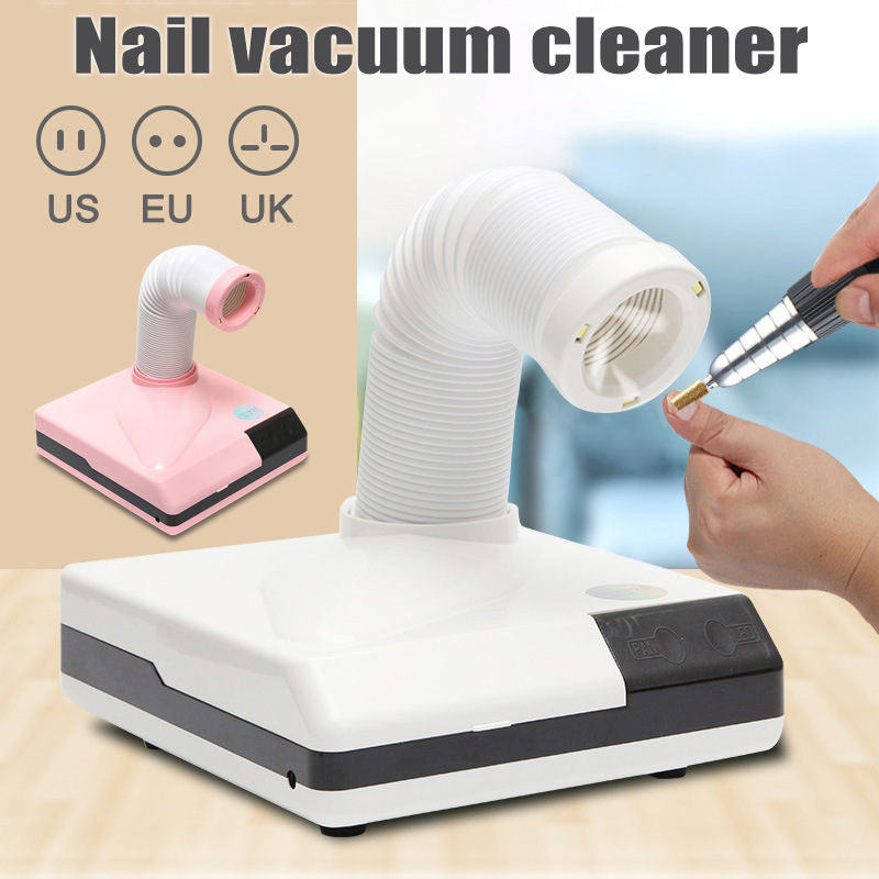 60W Nail Salon Suction Dust Remover Collector Vacuum Cleaner Manicure Machine Practical Manicure Vacuum Nail Dust Collector60W Nail Salon Suction Dust Remover Collector Vacuum Cleaner Manicure Machine Practical Manicure Vacuum Nail Dust Collector