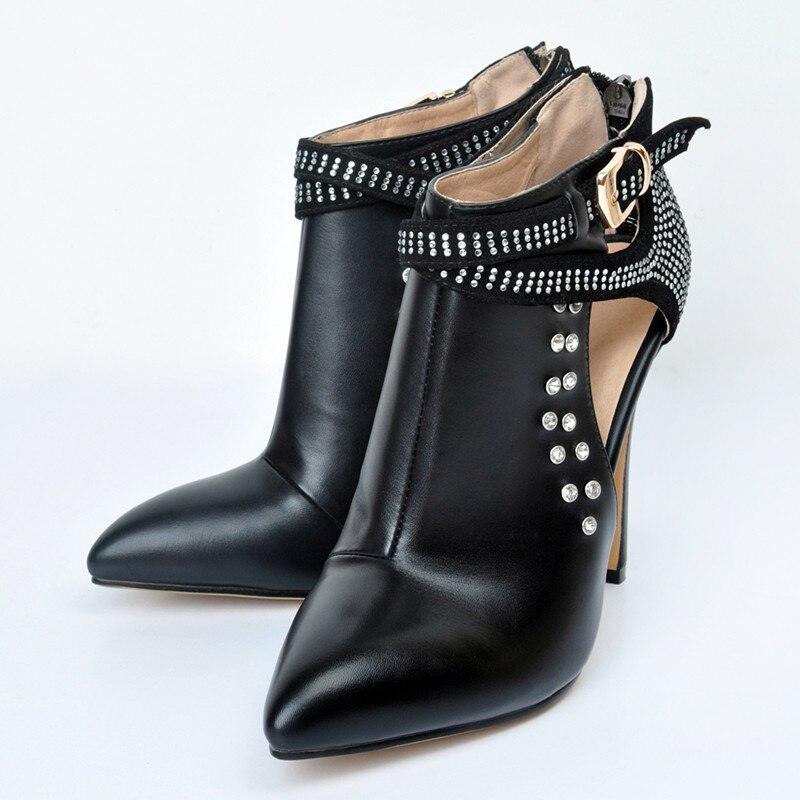Pointu Bout La Cm Cheville En Taille 34 Chaussures As Mode Talons Chaude Vente Plus Bottes Noir De Super Rivet Pic 44 Haute Femmes Sandales Métal qFBUZZa