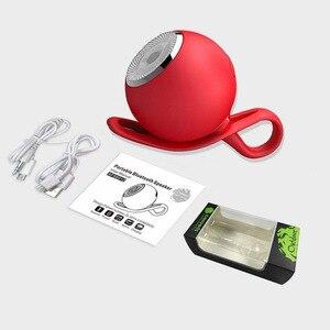 Image 5 - Aimitek עמיד למים Bluetooth רמקול מיני מקלחת רמקולי סיליקון חיצוני ספורט עמיד הלם סאב תמיכה TF כרטיס עבור טלפונים