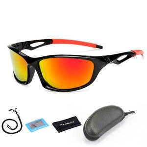 Reedocks جديد المستقطبة الصيد النظارات الشمسية الرجال النساء نظارات الصيد التخييم القيادة والمشي دراجة نظارات الرياضة الدراجات نظارات