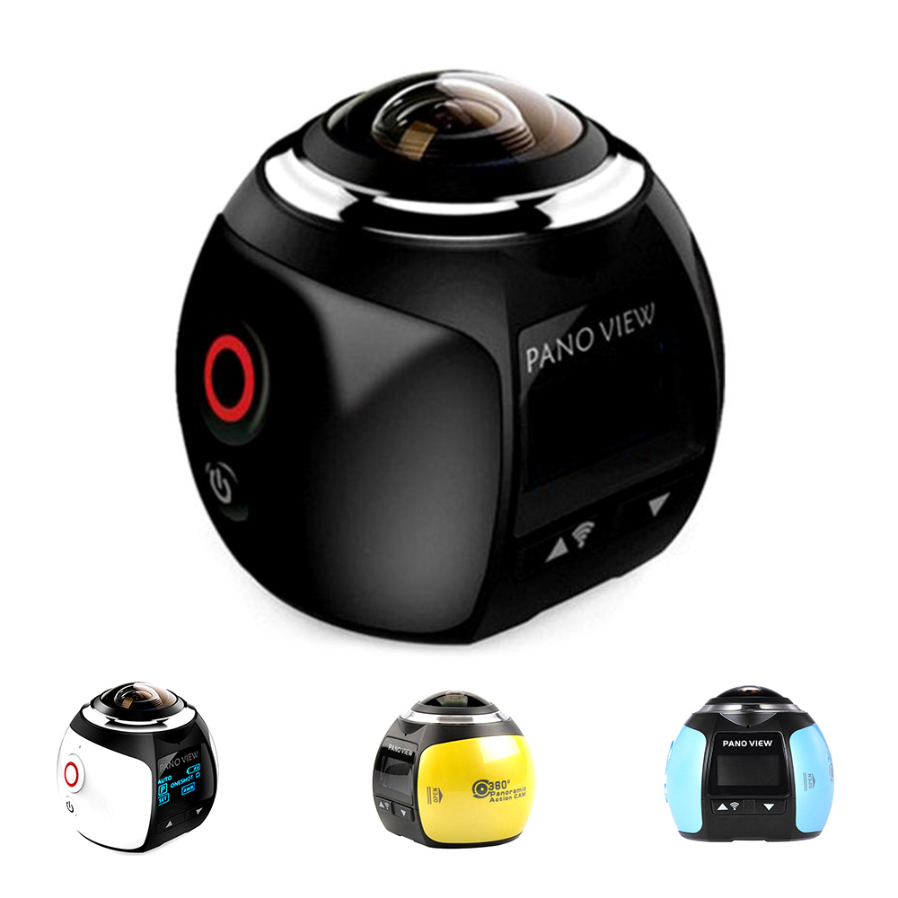 360 caméra panoramique Ultra HD 4 K Wifi 2448*2448 caméra d'action caméscope Portable étanche Sport conduite VR Sport caméra