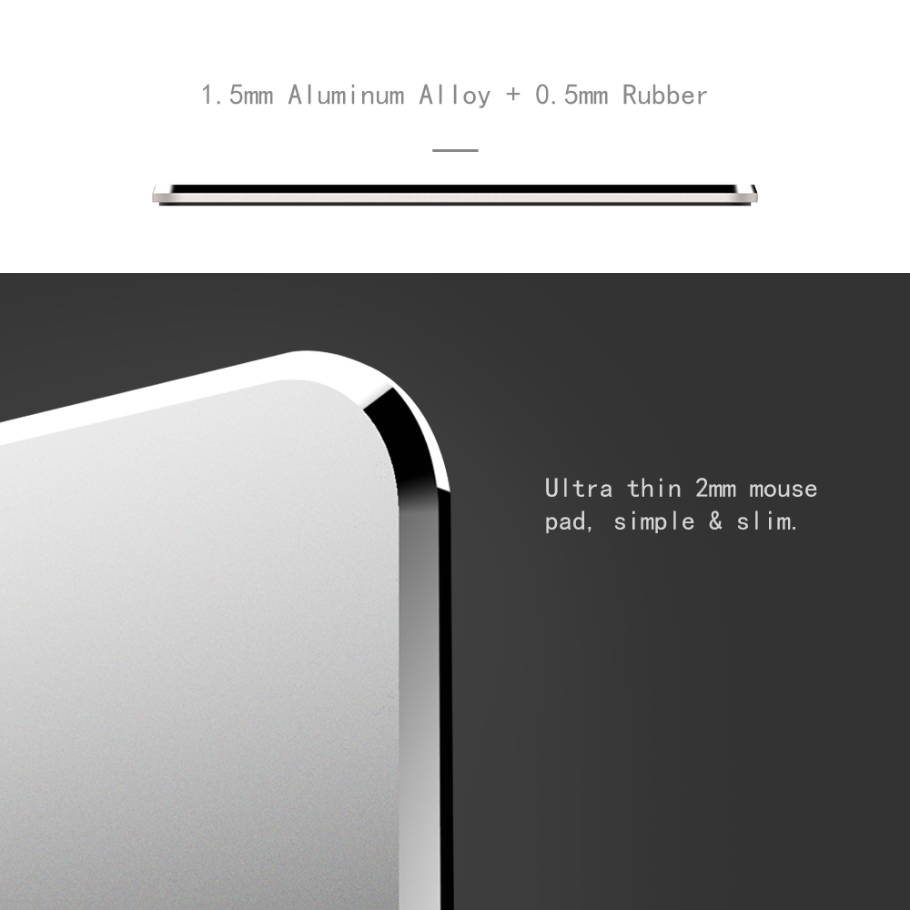 ORICO Professional Aluminum Gaming Mouse Pad black