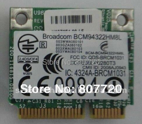 HP Pavilion dv6-1100 Notebook Broadcom WLAN Driver FREE
