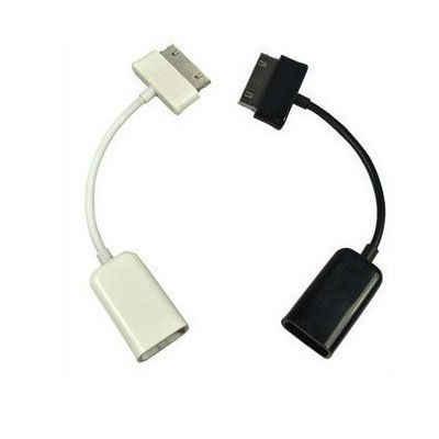 30 פינים USB OTG מארח כבל חיבור מתאם עבור Samsung Galaxy Tab 2 10.1 8.9 7.7 7.0 פלוס