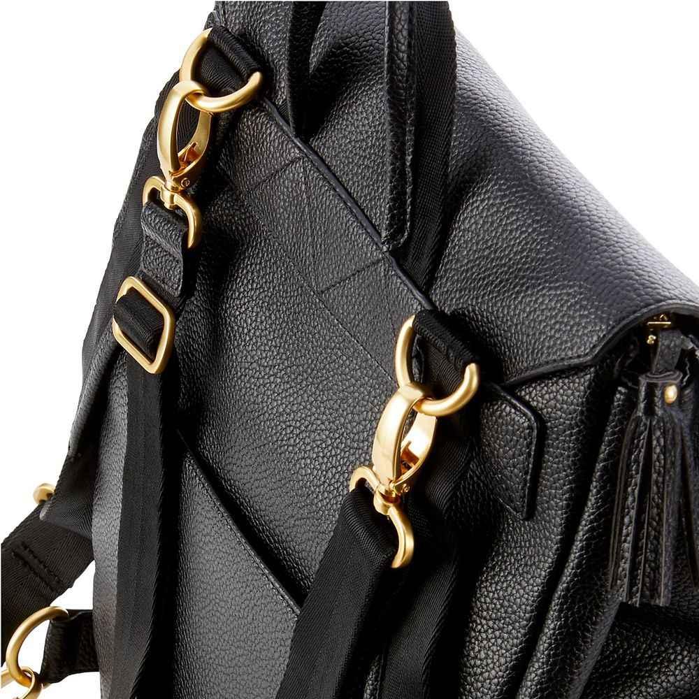 Из искусственной кожи, для детей, сумка для подгузников рюкзак + пеленальный коврик + коляски для прогулочной коляски