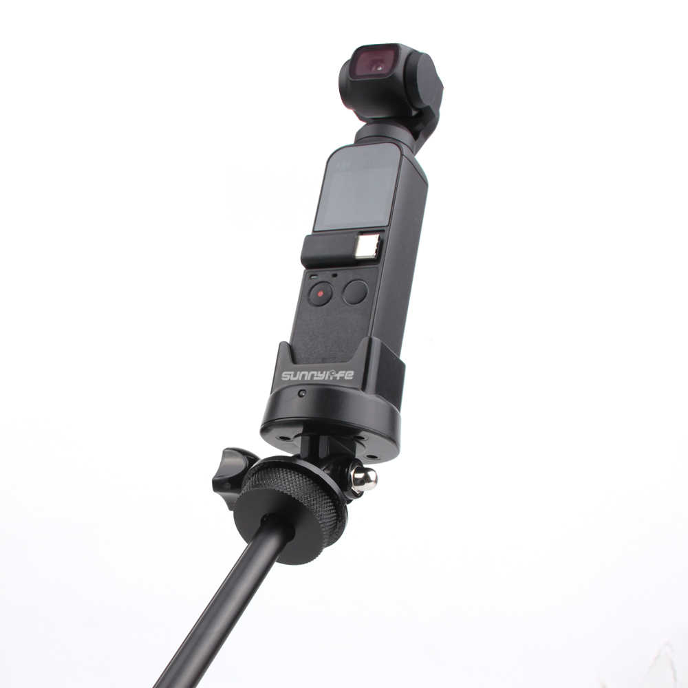Bluetooth Adapter Mount For DJI OSMO Action Camera Accessories Base Holder For Selfie Stick Chest Strap Wireless Connect