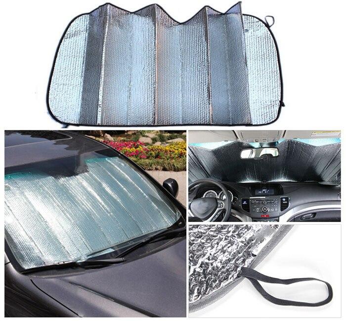 Car Sun Shade Window windshield Sunshade Covers Visor front car Screen foldable Bubbles Auto Sun Reflective Shade for MAZDA 3 6