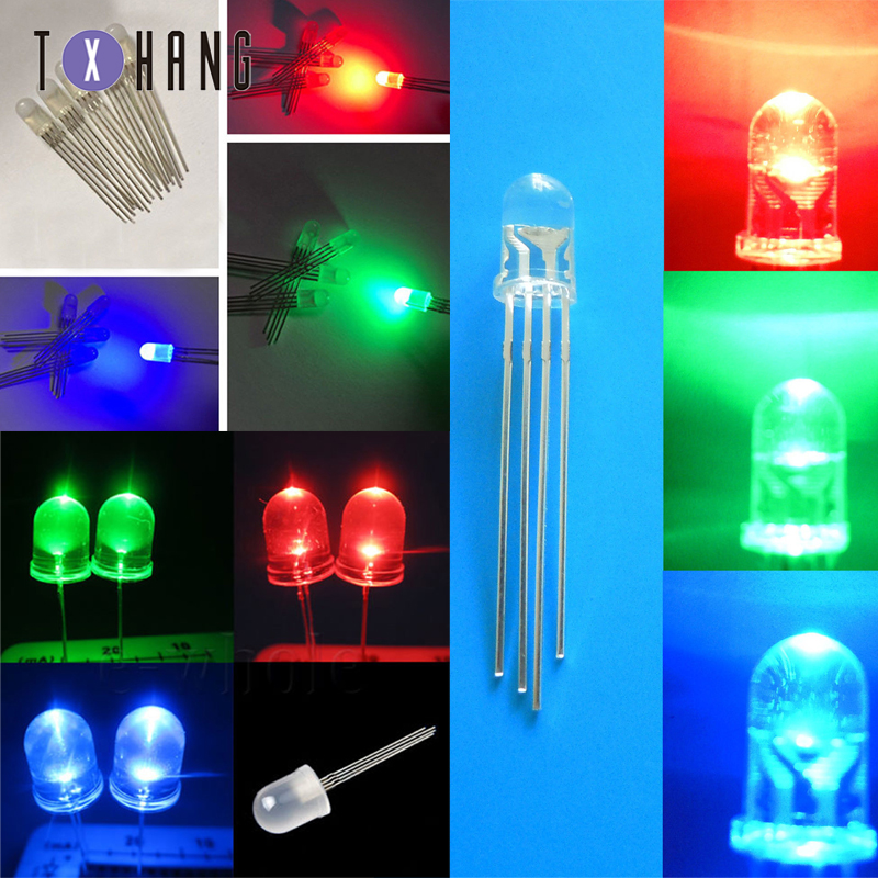 20 x LED 3mm Cool White Fast Flashing Blinking Strobe Ultra Bright LEDs 2Hz Mod