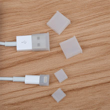 Siancs 10 Pieces Mobile Phone Cable Charge Port Dust Plug Case Cable Protector Micro usb cable Prevent rust for iphone Android(China)