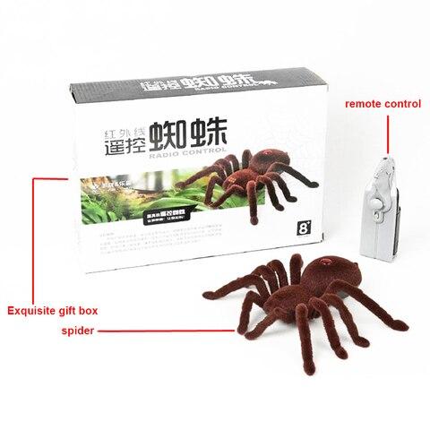 simulacao aranha brinquedo de controle remoto engracado