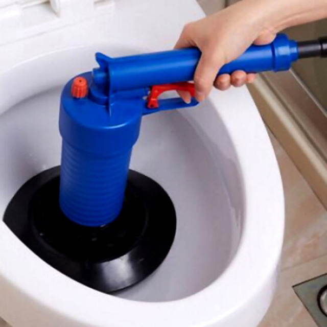 Home High Pressure Air Drain Blaster Pump Plunger Sink Pipe Clog - Bathroom sink clog remover