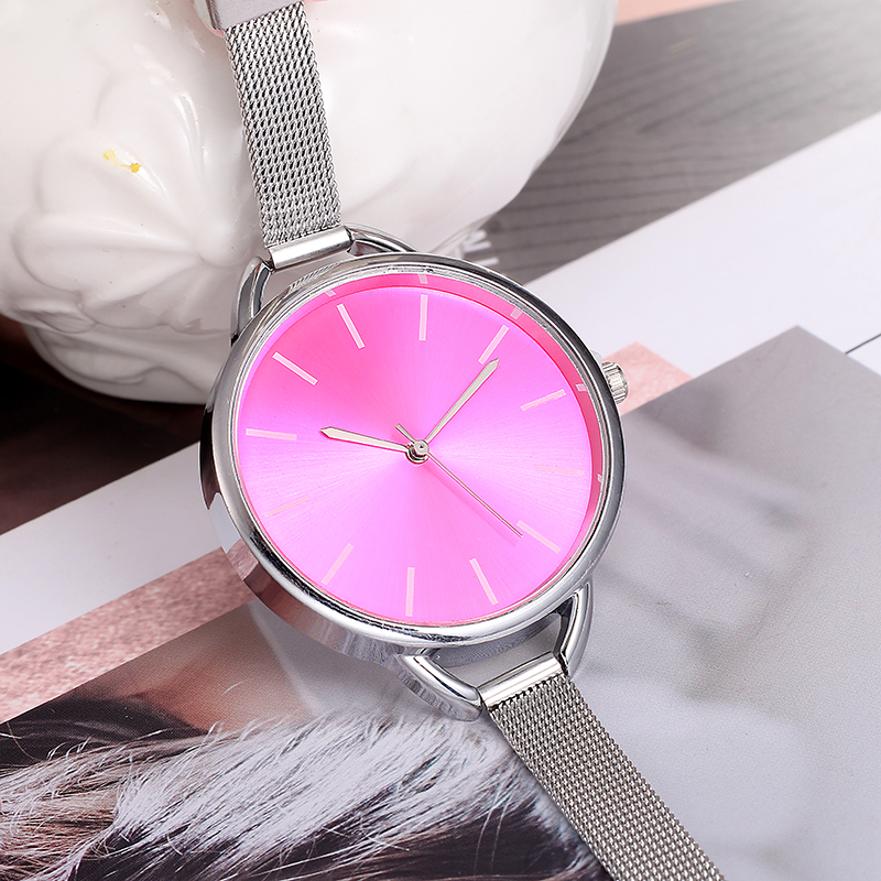 Top Luxury European Style Lady Watch Elegant Big Dial Quartz Super Slim Stainless Steel Bracelet Watch Women's Wrist Reloj Mujer HTB1bv06mwnH8KJjSspcq6z3QFXaz