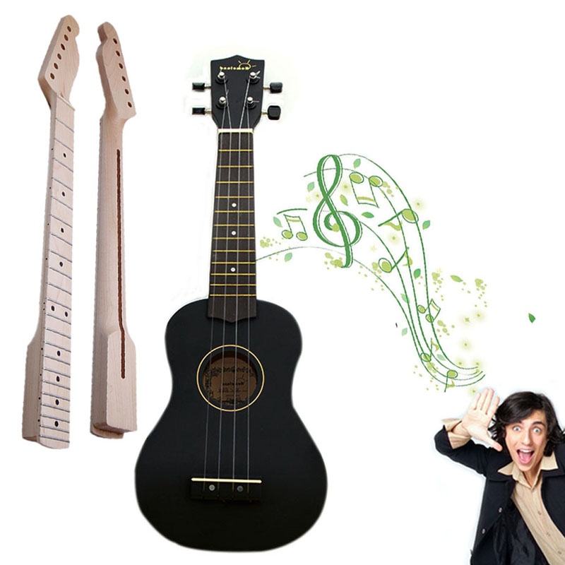 1Pc Maple Wood Electric Guitar Neck 22 Fret For Guitar Parts Replacement 1 pcs electric guitar neck maple wood fretboard truss rod 22 fret tiger stripes maple neck xylophone