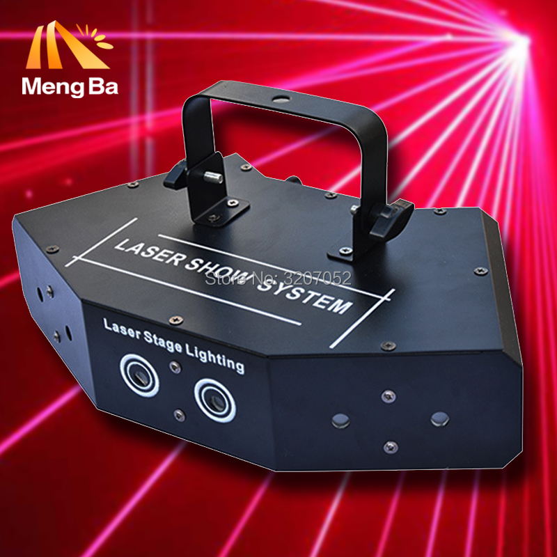 4pcs/lot 6 eyes laster light stage light Wedding/Disco/Dance halls/Bars/KTV/Family Party RGB laser good quality laser lamps