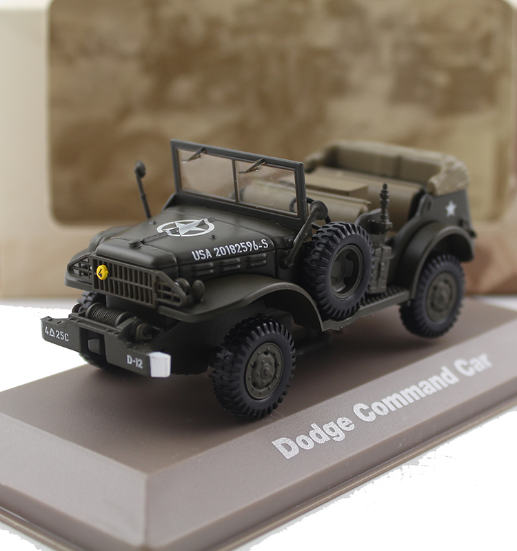 ATLAS 1/43 World War II Ddge Command Car military off-road vehicle Alloy model Collection model Holiday gift odeon light подвесная люстра alpes 2937 6
