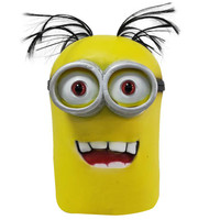 Despicable Me Gru Mask Cosplay Costume Helmet Halloween Lovely Cute Cartoon Minions Face Mask Props Movies Mask Kids Gifts Toys